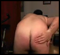 spanking a naughty skype submissive