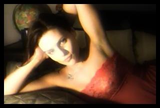 skype cam girl in pink lingerie