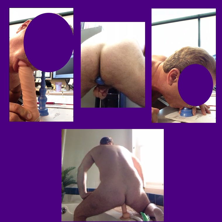 my exhibitionist funtoy playing with anal beads and dildos on skype